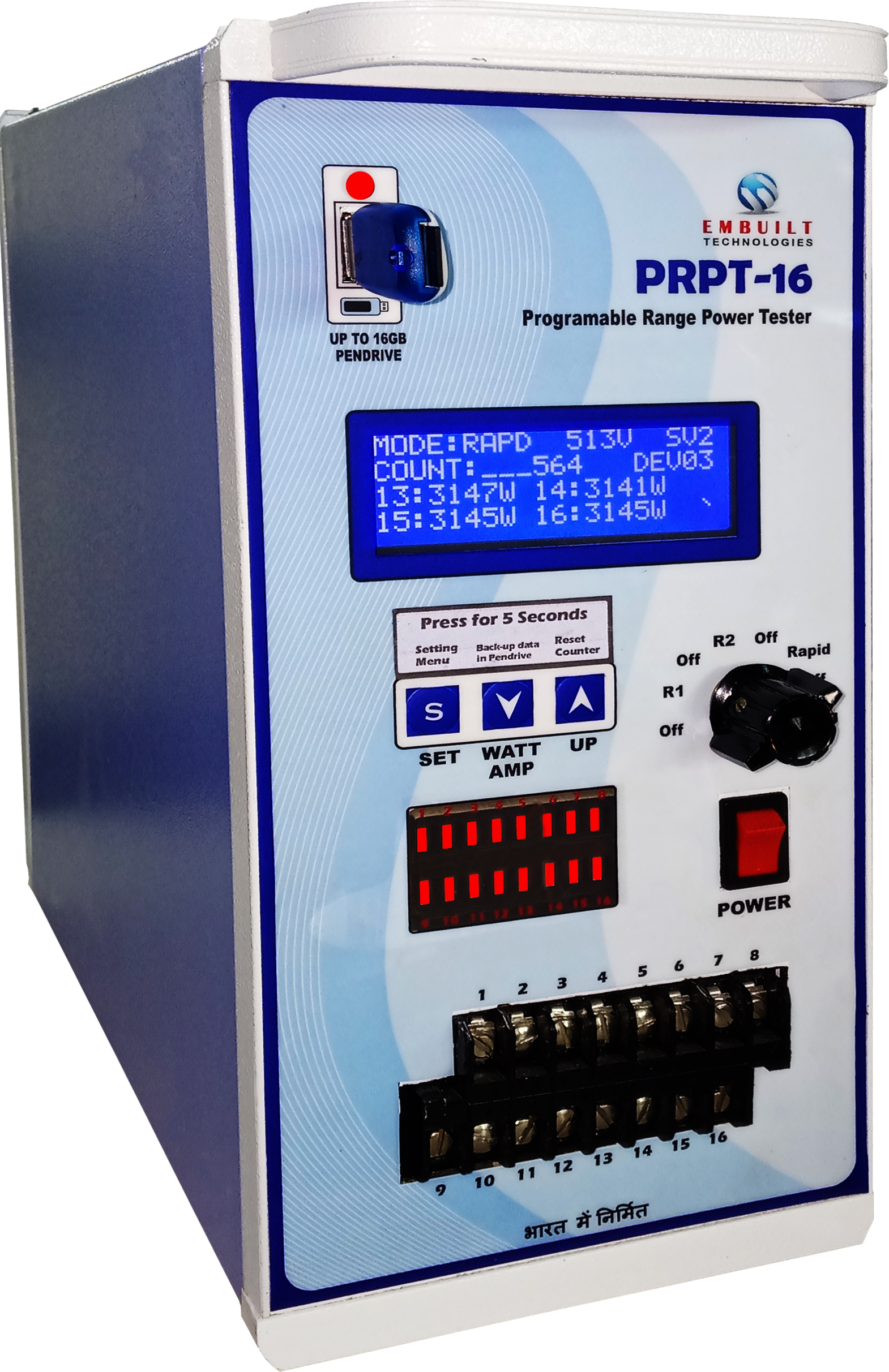 Testing Equipments Led Driver With Thd Measurement 6 Channels Phase Shift Control Prpt 16 Is Programmable Range Power Tester For