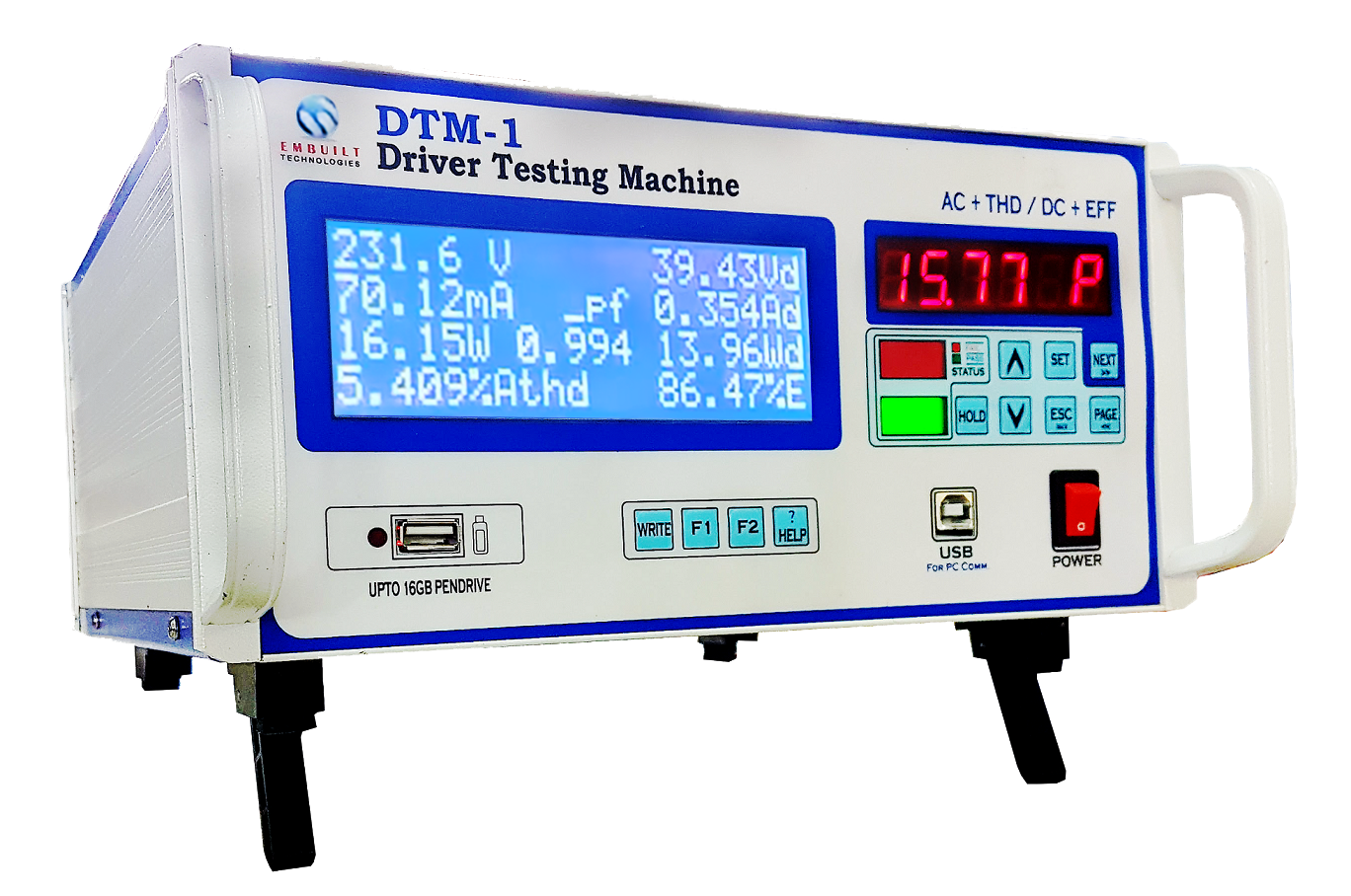 Dtm 1 Led Driver Testing With Thd Measurement Watt Circuit View 3 Catalog