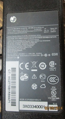 Laptop Adapter Specifications