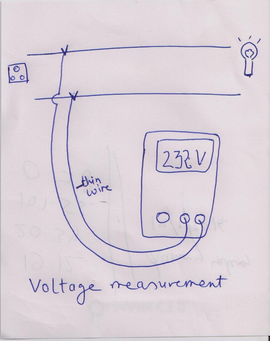 Voltage Measurement Led Driver Testing With Thd Laptop Multimeter Tests Checking And Short Circuits